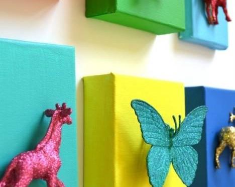 Snygga grejer av ratade leksaker. re-creating.se